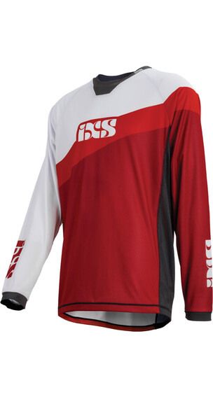 IXS Race 7.1 DH Longsleeve Jersey Men fluo red/red